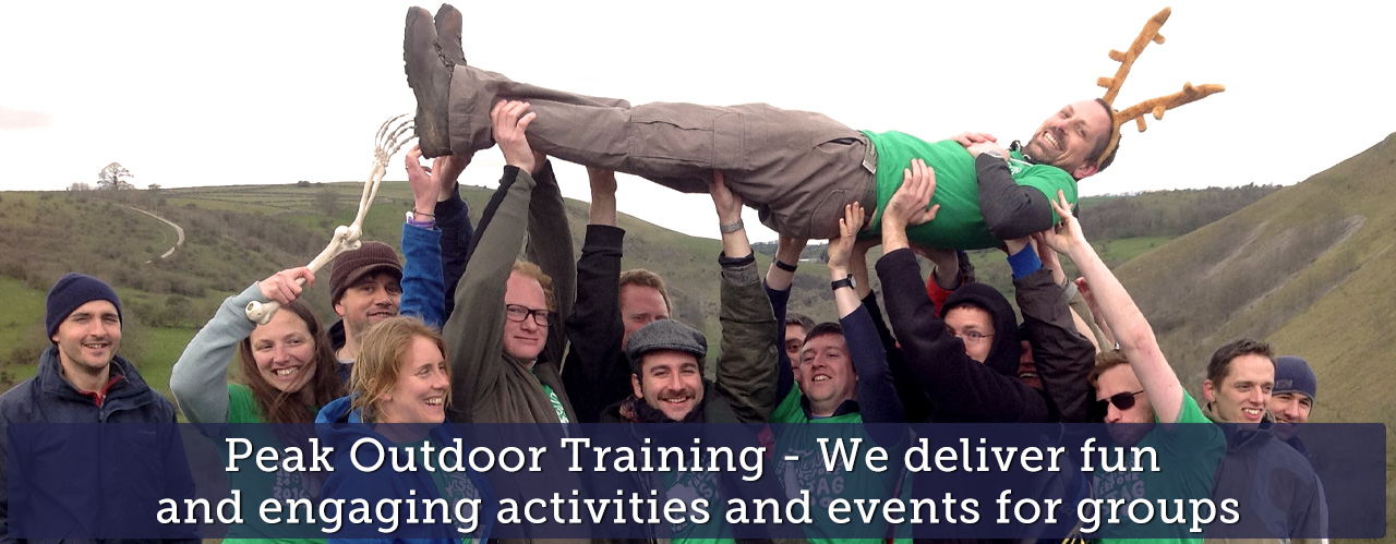 Peak Outdoor Training - We deliver fun  and engaging activities and events for groups